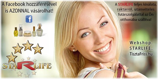 Webshop.STARLIFE.TisztaFriss.hu - online termék vásárlás